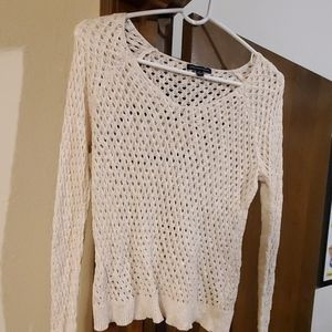 Mesh sweater, small, American Eagle